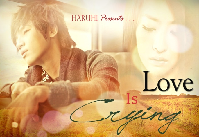 love is crying poster